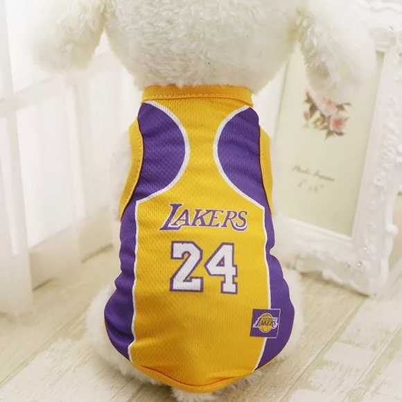 Other | Lakers 24 Kobe Jersey For Dogs Dog Clothes | Poshmark